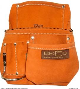 Kapsa kožená na spojovací materiál BECCO
