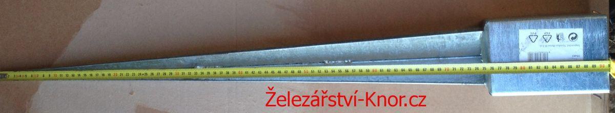 Kotevní patka 100x100 / 900mm