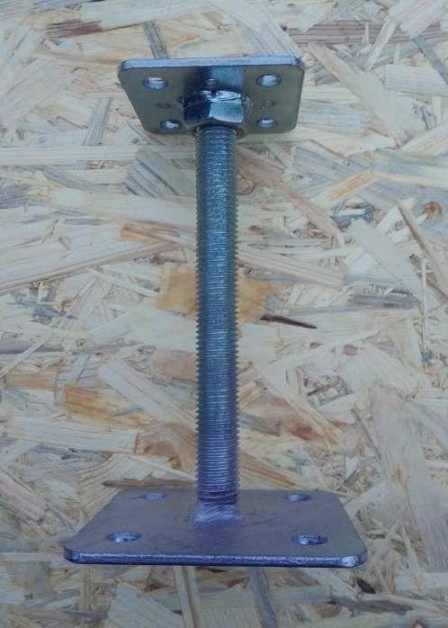 patka pilíře 200 mm, vrchní deska menší
