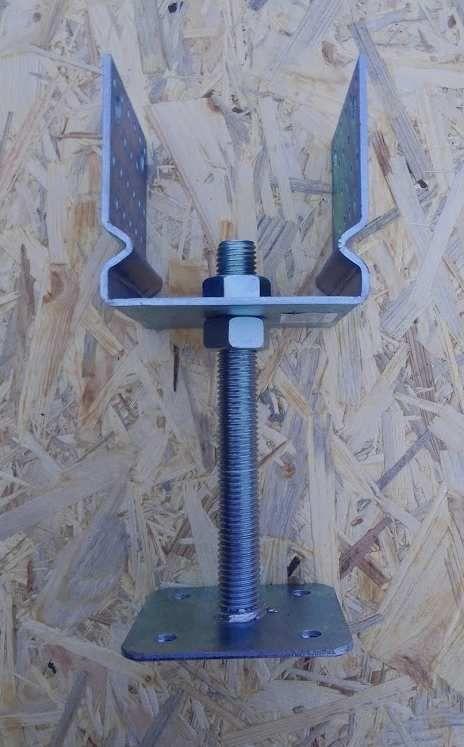 nastavitelná patka pro trám 120 mm