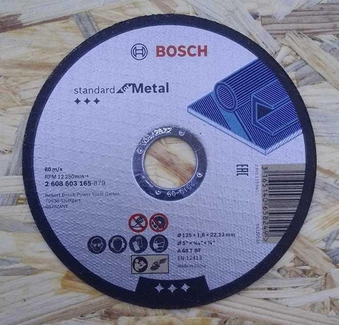 Řezný plochý kotouč Bosch 115 / 1,6 mm na ocel