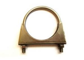 """Trubková spona pro trubku 3"""" - rozsah 80 - 90 mm, závit M10. Zn."""