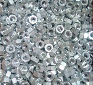 Matice hliníková M6, DIN 934