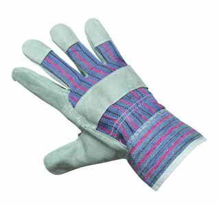 Pracovní rukavice z hovězí štípanky - vel. 10