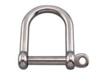 Řetězový třmen extra široký, síla 5mm, nerez A4