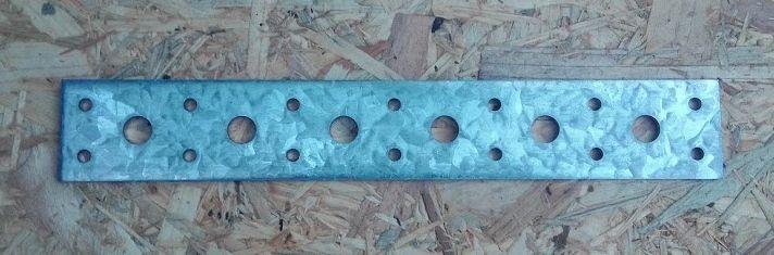 Spojovací tesařský pásek 40x220x3mm