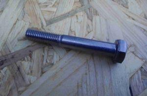 Šroub nerezový částečný závit M5 x 55 mm, DIN 931, nerez A2,