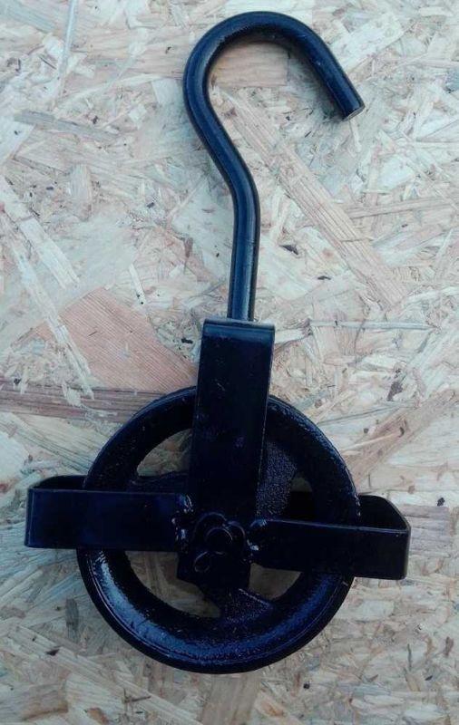 Stavební kladka, průměr 160 mm, nosnost 450 kg