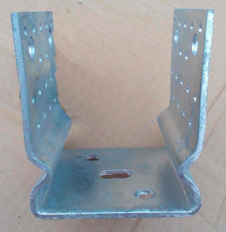 Kotevní profil - patka U s prolisem 60x60mm