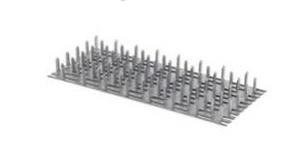 Styčníková deska 126x252x1,5mm žár. Zn