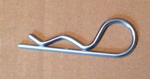 Závlačka pružinová jednoduchá 2x50mm