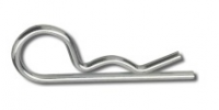 Závlačka jednoduchá pružinová - nerezová, 2,5x38 mm