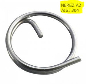 Pojistný nerezový kroužek 23mm
