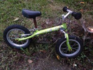 Odrážedlo - dětské kolo