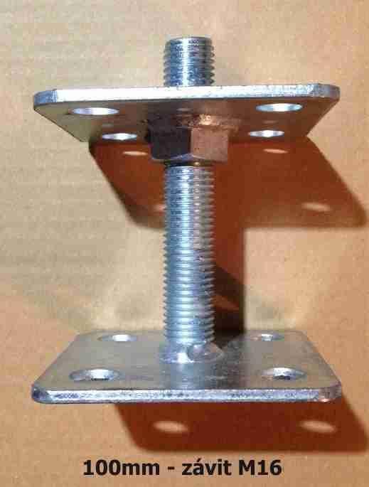 Patka pilíře 100mm, závit M16