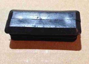 Zátka do jeklu obdélníková 50x20mm