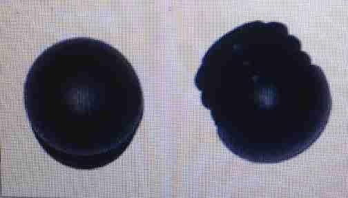 Zátka trubky vypouklá průměr 25mm