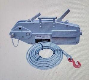 Ráčnový hupcuk lanový napínák, 3200 kg + zdarma lano s hákem 20 m