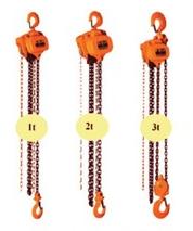 Řetězový kladkostroj ruční 5000 kg, zdvih 3m