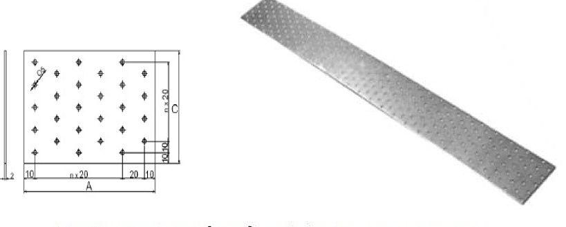 spojovací deská pás