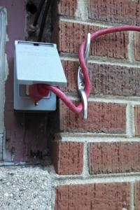 úvazek prodlužovacího kabelu