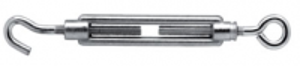 Napínák hák - oko M6x60mm (zinková slitina)