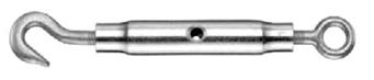 Napínák ocelového lana hák s okem