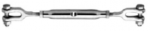 Napínací šroub M12,  2x vidlice DIN 1478