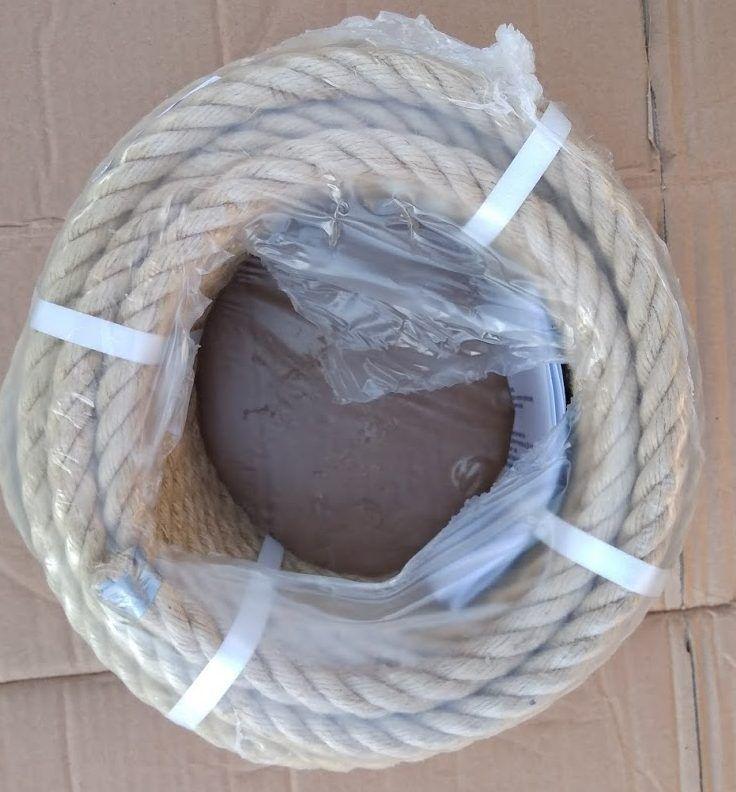 jutové lano - ilustrační foto