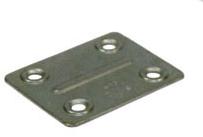 Nábytkový plech spojovací (typ4) 50x40mm