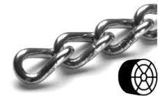 Řetěz kroucený - nerez
