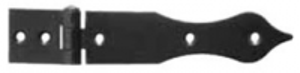Závěs - zdobený ocelový 144x25mm (pravý)