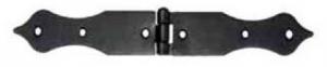 Závěs - zdobený ocelový 224x25mm
