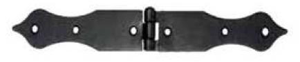 Závěs stavební, černý pozink, 224x25mm