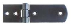 """Závěs - pant s """"obloukem""""  stavební ocelový 63x25mm"""
