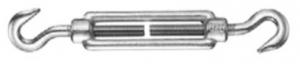 Napínák otevřený M6, hák - hák. DIN1480, Zn.