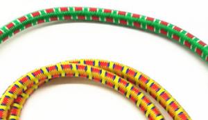 Gumolano 12mm, barevné, elasticita až 100 %, délka 5m