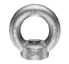 Závěsné oko s maticí M24, DIN 582, bez. p.ú.