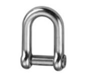 Třmen řetězový - rovný typ 6mm, imbus, nosnost 120kg, nerez A4