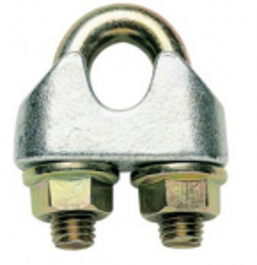 Svorka lanová s třmenem 10mm, DIN 1142, Zn.