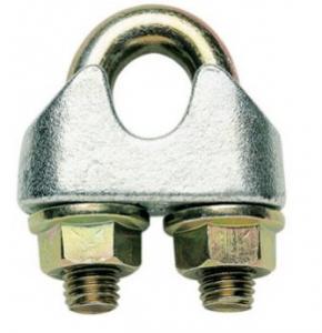 Svorka lanová s třmenem 5mm, DIN 1142, Zn.