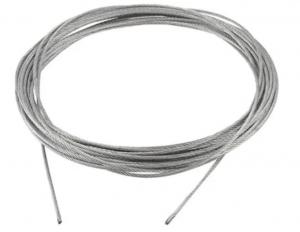 Nerezová lana 1x7 prodej po metru