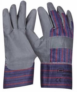 Pracovní rukavice GREY VINYL umělá kůže velikost 10,5
