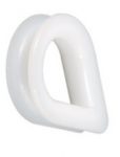 Lanová očnice plastová pro lano 10mm - polyamid
