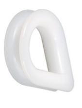 Lanová očnice plastová pro lano 14mm - polyamid