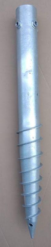 Zemní vrut typ G 76/800 mm, 4xM12
