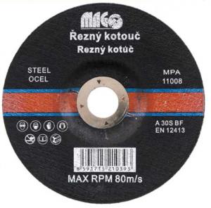 Kotouč řezný na ocel 125x1,6mm - Magg