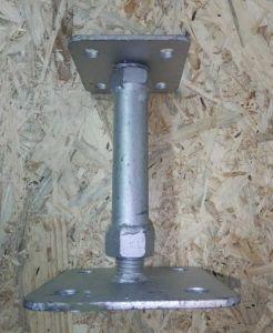Patka stavitelná pro dřevostavby 140mm / M20