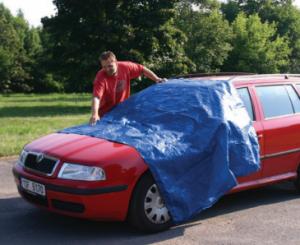 Plachta krycí 2x3m - modrá - standard