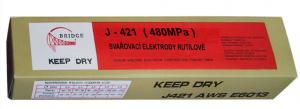 Rutilové elektrody 2,0mm J421 balení 2,5kg